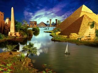 Собирать пазл Тайны Египта онлайн