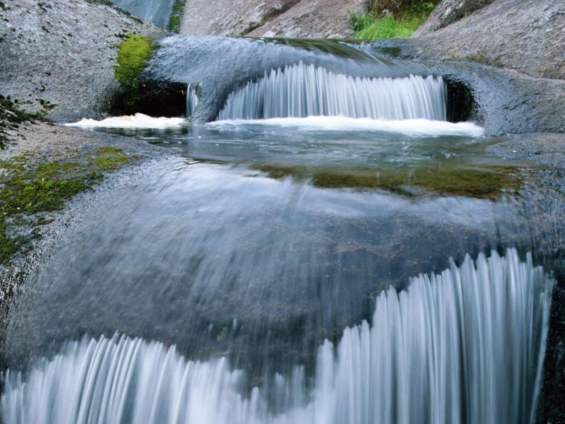 Пазл Собирать пазлы онлайн - Текущая вода
