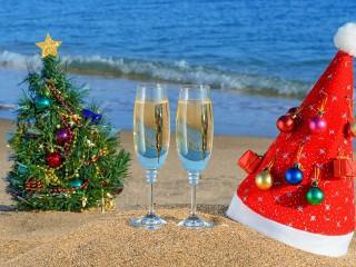 Собирать пазл Теплый Новый год онлайн