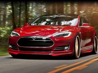 Собирать пазл Tesla Model S онлайн