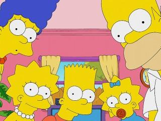 Собирать пазл The Simpsons онлайн