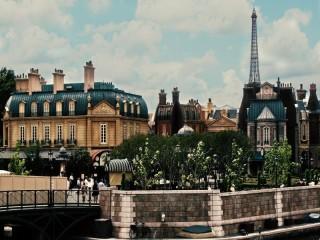 Собирать пазл Тихий уголок в Париж онлайн