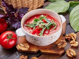 Собирать пазл Томатный суп онлайн