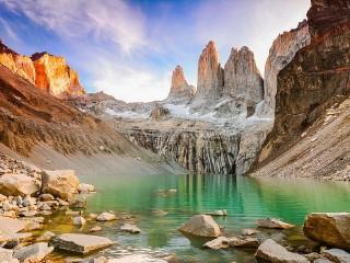 Собирать пазл Torres del Paine онлайн