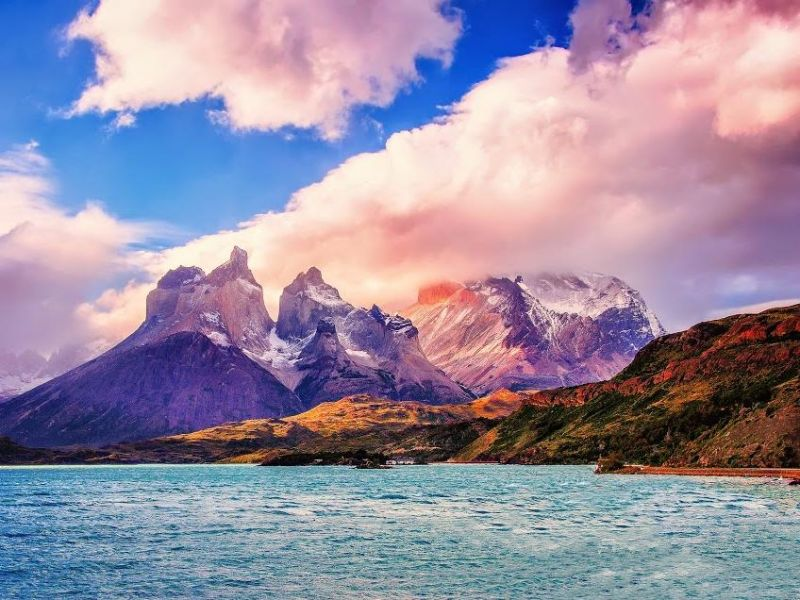 Пазл Собирать пазлы онлайн - Торрес дель Пайне