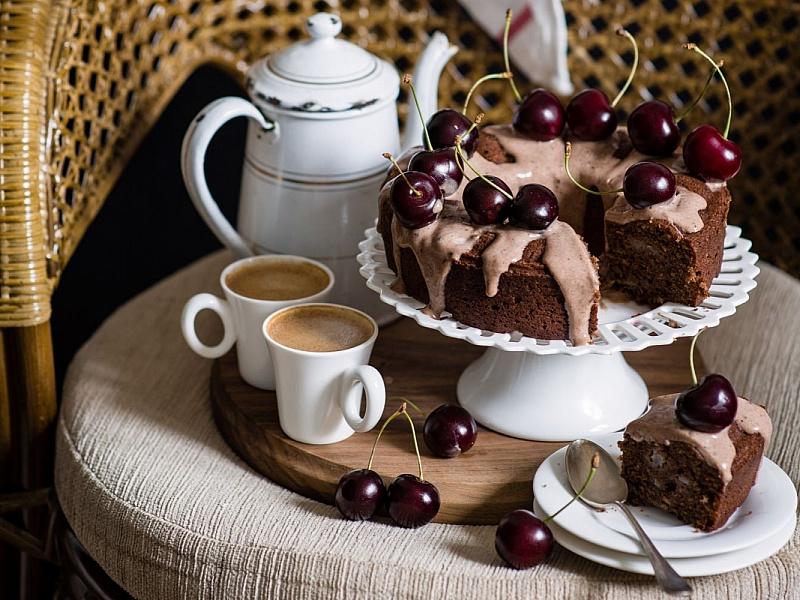 Дню, открытки тортики к чаю