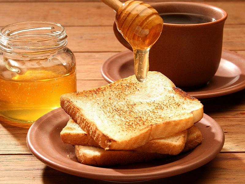 Пазл Собирать пазлы онлайн - Тосты на завтрак