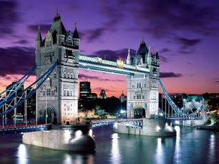 Собирать пазл Tower London онлайн