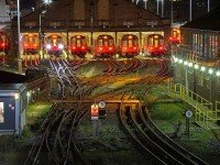 Собирать пазл Трамвайное депо онлайн