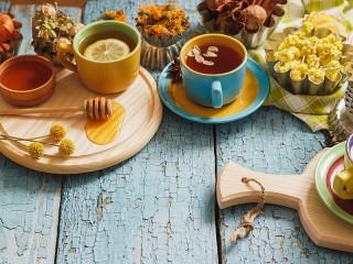 Собирать пазл Травяной чай онлайн