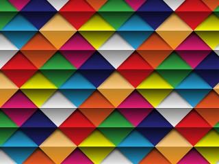 Собирать пазл Треугольники и полосы онлайн
