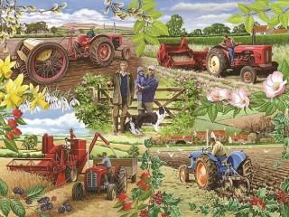 Собирать пазл Труд земледельца онлайн