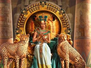 Собирать пазл Царица Египта онлайн