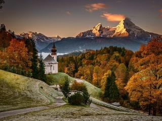 Собирать пазл Церковь в Баварии онлайн