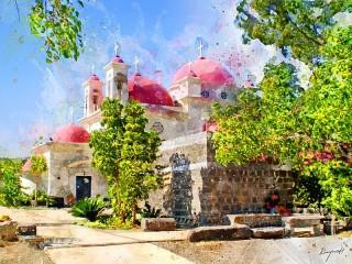 Собирать пазл Церковь в Израиле онлайн