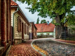 Собирать пазл Цесис Латвия онлайн