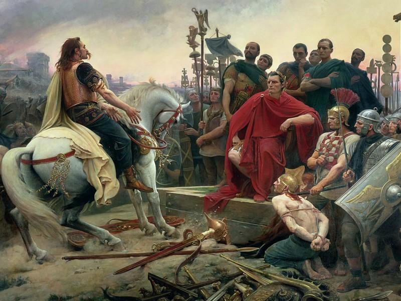 Пазл Собирать пазлы онлайн - Цезарь Завоеватель