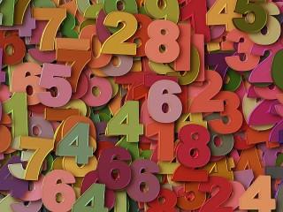 Собирать пазл Цифры онлайн