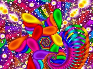 Собирать пазл Цвет и форма онлайн