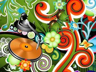 Собирать пазл Цвет и музыка онлайн