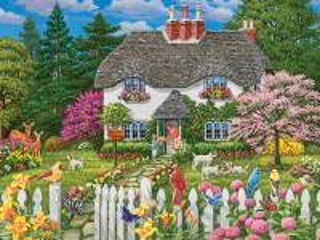 Собирать пазл Цветы для мамы онлайн