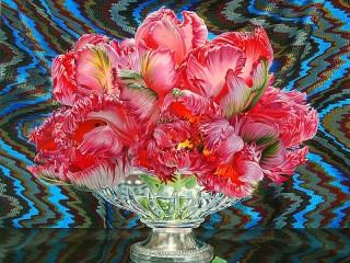Собирать пазл Цветы Эрика онлайн