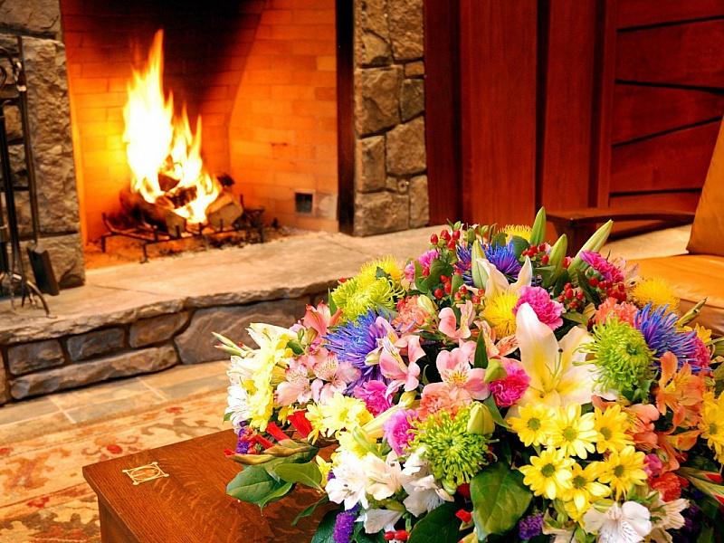 Пазл Собирать пазлы онлайн - Цветы в интерьере