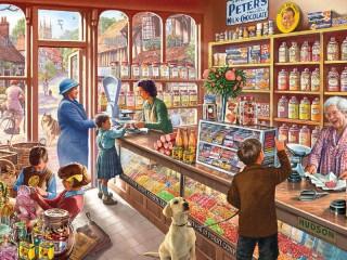 Собирать пазл За конфетами онлайн