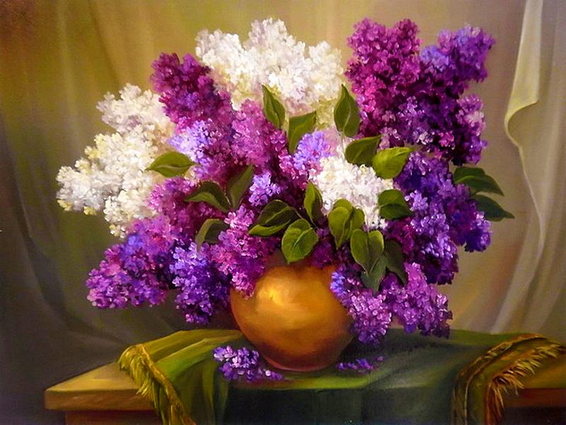 Пазл Собирать пазлы онлайн - Цветы весны