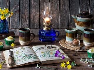 Собирать пазл Цветы весны онлайн