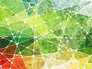 Собирать пазл Цветная геометрия онлайн
