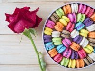 Собирать пазл Цветные макарон онлайн