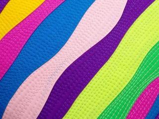 Собирать пазл Цветные волны онлайн