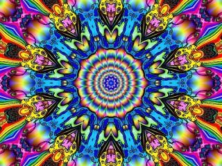 Собирать пазл Цветное движение онлайн