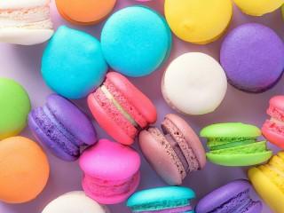 Собирать пазл Цветное печенье онлайн
