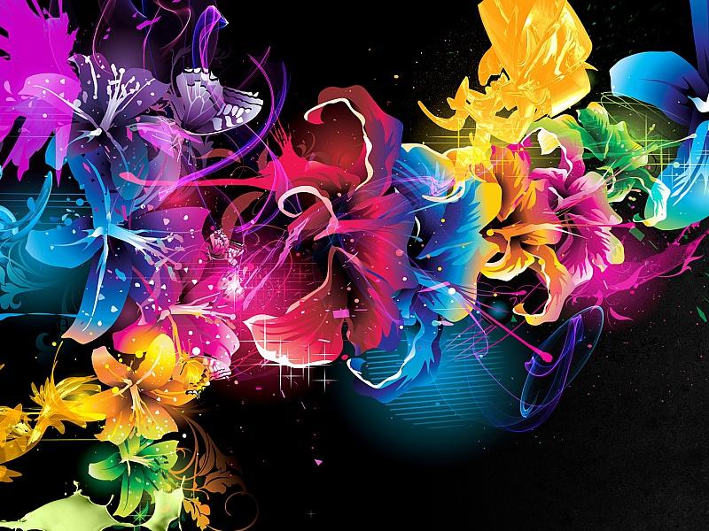 Пазл Собирать пазлы онлайн - Цветочки