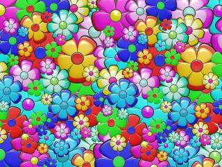 Собирать пазл Цветочки онлайн