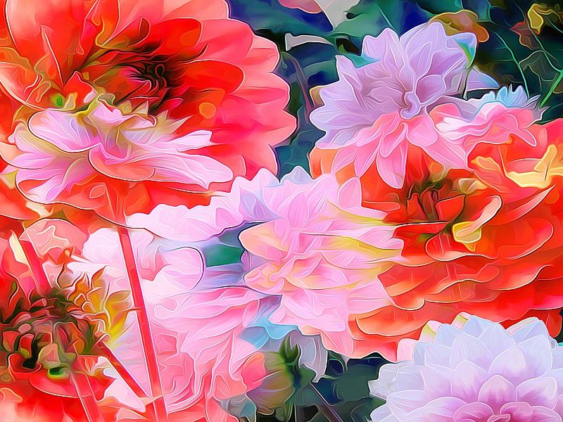 Пазл Собирать пазлы онлайн - Цветочная композиция