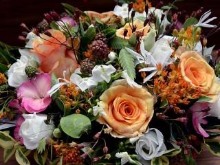 Собирать пазл Цветочный букет онлайн