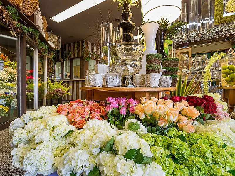 Дорогие цветы магазин, лист рассаду
