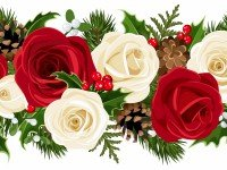 Собирать пазл Цветочный бордюр онлайн