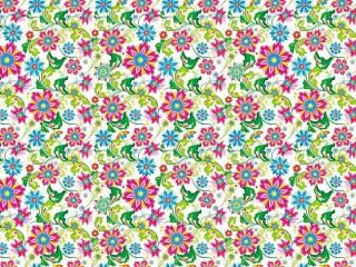 Собирать пазл Цветочный орнамент онлайн