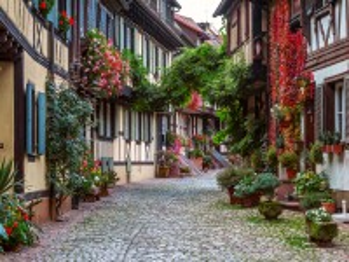 Собирать пазл Цветущая Германия онлайн