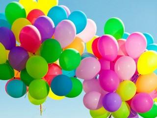 Собирать пазл Тучки шариков онлайн
