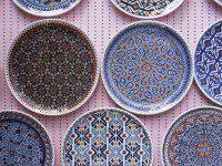 Собирать пазл Турецкая посуда онлайн