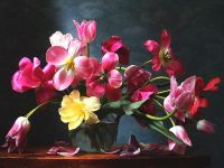 Собирать пазл Тюльпаны букет онлайн