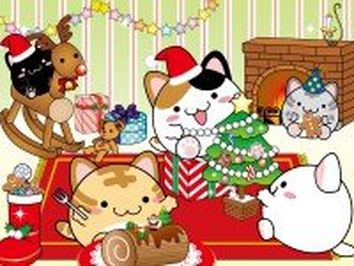 Собирать пазл У котиков вечеринка онлайн