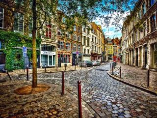 Собирать пазл Уголок Амстердама онлайн