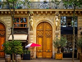 Собирать пазл Уголок Парижа онлайн