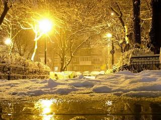 Собирать пазл Уличные фонари онлайн